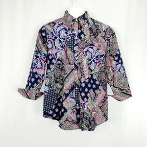 Lauren Ralph Lauren Button up Shirt D1137